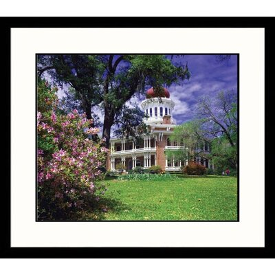 Great American Picture Longfellow House in Mississippi Framed Photograph - Ken Dequaine