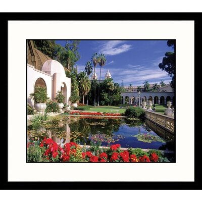Great American Picture Balboa Park Atrium in San Diego Framed Photograph - David Frazier