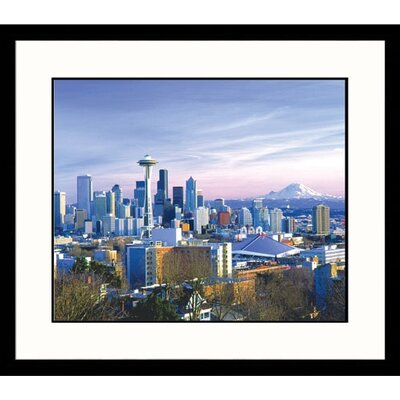 Seattle Skyline Framed Photograph - George White Jr.