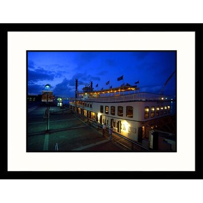 Great American Picture Creole Queen Riverboat in New Orleans Framed Photograph - Mark Gibson