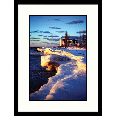 Pt. Betsie, Michigan Light Framed Photograph