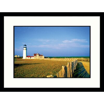 Great American Picture Cape Cod Light Framed Photograph - Stephen Saks