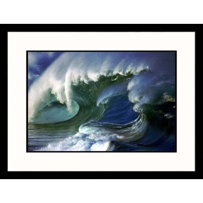Ocean Wave I Framed Photograph - Hank Fotos
