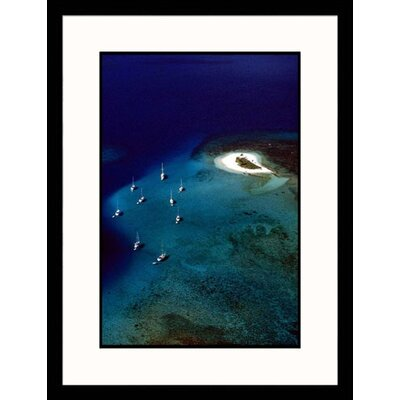 Ocean and Boats Framed Photograph - Steve Dunwell