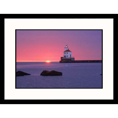 Wisconsin Point Lighthouse Framed Photograph - Ken Wardius