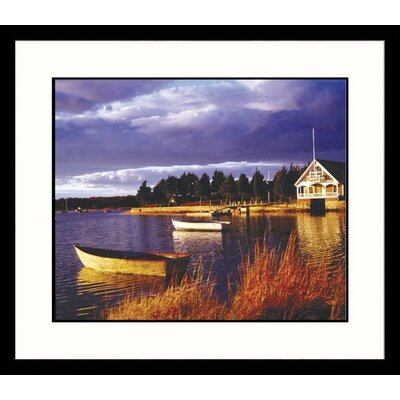 Great American Picture Dock in Light Framed Photograph