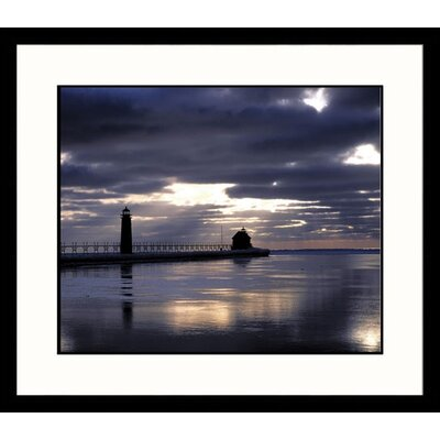 Grand Haven Lighthouse Framed Photograph - Adam Jones