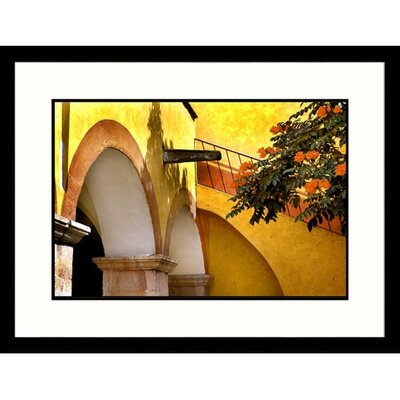 Mexico Convent Arches Framed Photograph