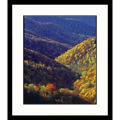 Great American Picture Deep Creek Valley Framed Photograph - Adam Jones