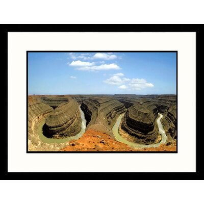 Goose Neck, Colorado River, Utah Framed Photograph - Henryk T. Kaiser