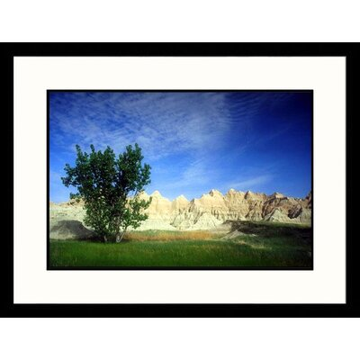 Great American Picture Badlands Wall, Badlands - New Mexico, South Dakota Framed Photograph - Jack Jr Hoehn