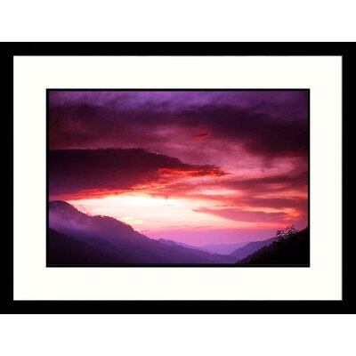 Landscapes 'Great Smokey Mountains National Park, Tennessee' by David Davis Framed Photographic ...