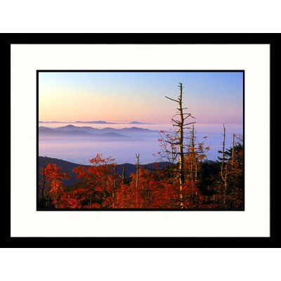 Landscapes 'Great Smokey Mountains, Tennessee' by Stephen Gassman Framed Photographic Print