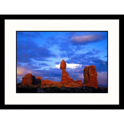 Great American Picture Balanced Rock, Arches National Park, Utah Framed Photograph - Jules Cowan