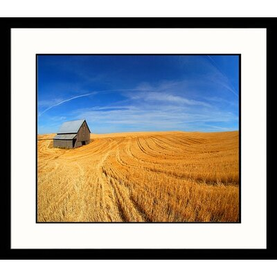 Wheat Field, Washington Framed Photograph - Mike Ricciardi