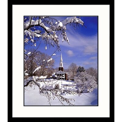 Northeast Winter Framed Photograph