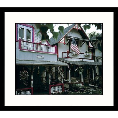 Cape Cod Cottages, Massachusetts Framed Photograph