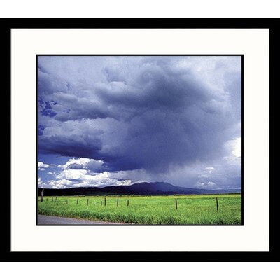 Great American Picture Big Sky Framed Photograph