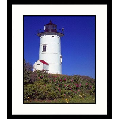Nobska Lighthouse Framed Photograph