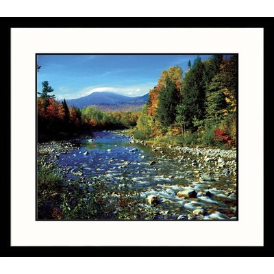 Great American Picture Mount Washington, New Hampshire Framed Photograph