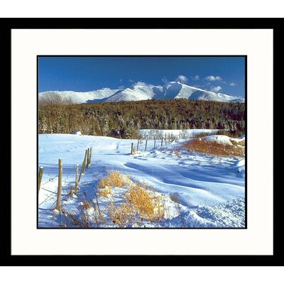 Mount Mansfield Winter Framed Photograph