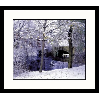 New England Winter Framed Photograph