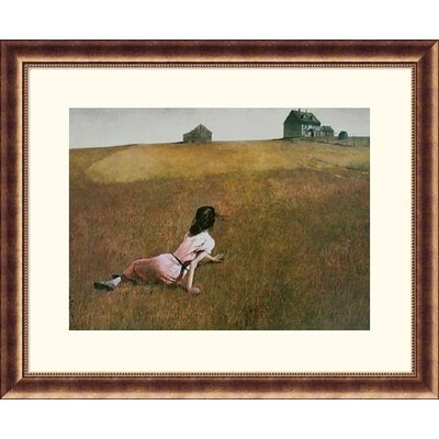 Great American Picture Christina's World Bronze Framed Print - Andrew Wyeth