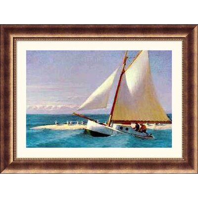 Great American Picture Martha Mckeen of Wellfleet Bronze Framed Print - Edward Hopper