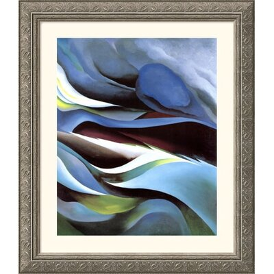 From the Lake No. 1 Silver Framed Print - Georgia O'Keeffe