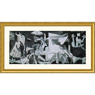 Great American Picture Guernica Gold Framed Print - Pablo Picasso