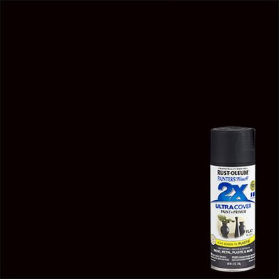PaintersTouch Painter's Touch® 2X™ 12 Oz Black Cover Spray Paint Gloss