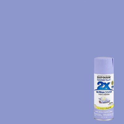 Painter's Touch® 2X™ 12 Oz French Lilac Cover Spray Paint Satin