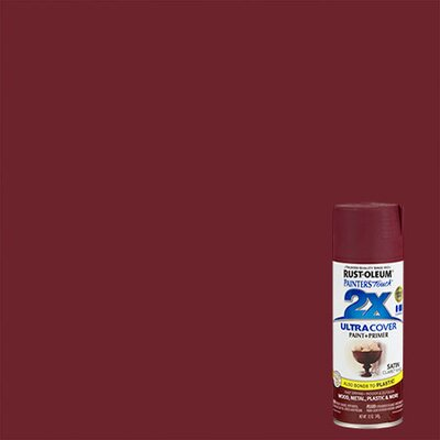 Painter's Touch® 2X™ 12 Oz Claret Wine Cover Spray Paint Satin