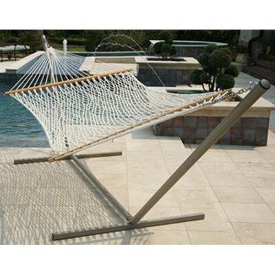 Pawleys Island Original Polyester Rope Hammock with Stand