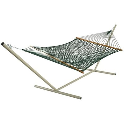 Large Original DuraCord Rope Hammock with Stand