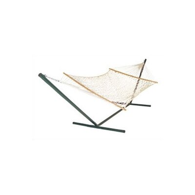 Pawleys Island Original Cotton Rope Hammock with Stand