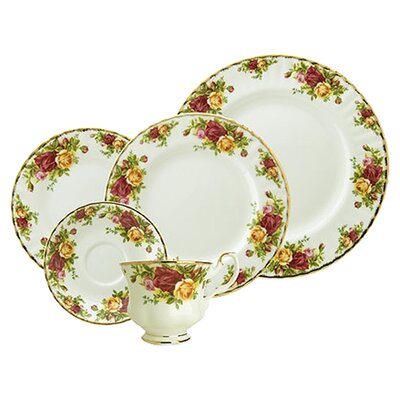 <strong>Royal Albert</strong> Old Country Roses 5 Piece Place Setting