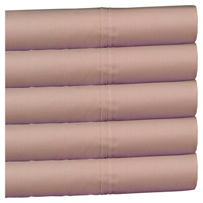Wildon Home ® 300 Thread Count Wrinkle Resistant Sateen Sheet Set