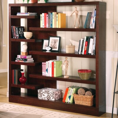 "Wildon Home ® Sandy 66"" Bookcase in Cappuccino"