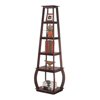 Wildon Home ® Scio Bookshelf in Cappuccino