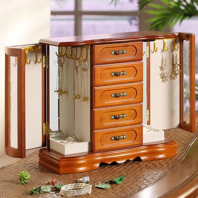 Wildon Home ® London Collection Two Door Jewelry Box