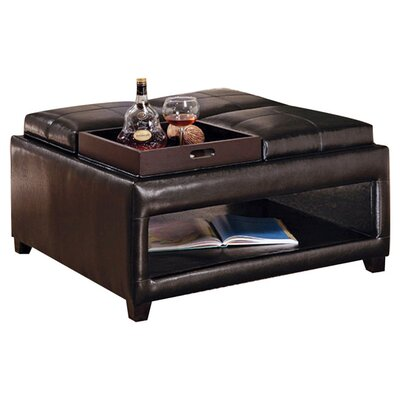 Wildon Home ® Square Cocktail Ottoman
