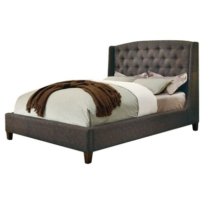 Wildon Home ® Upholstered Wingback Bed