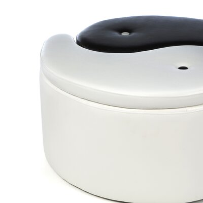 Wildon Home ® Ying Yang Storage Ottoman