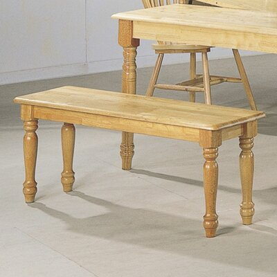 Wildon Home ® Brandon Wooden Kitchen Bench