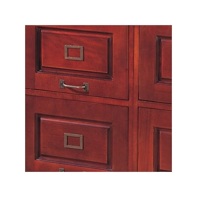 Wildon Home ® Parkdale Two Drawer File in Cherry