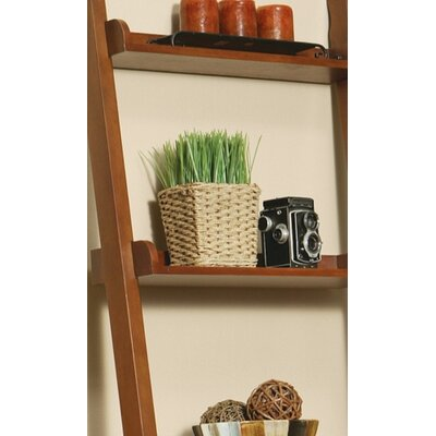 Wildon Home ® Shady Bookshelf in Warm Mahogany