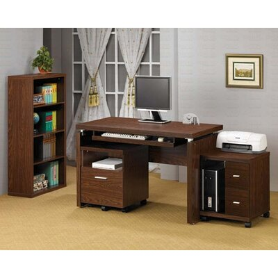 Wildon Home ® Castle Pines Standard Desk Office Suite