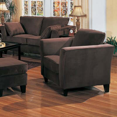 Wildon Home ® Holtville Velvet Chair and Ottoman