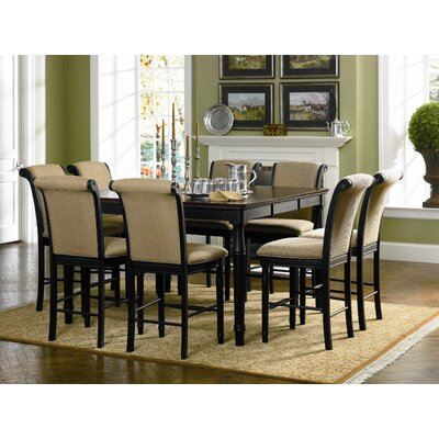 Wildon Home ® Hamilton 9 Piece Counter Height Dining Set